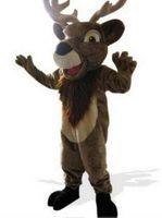 Wholesale Forest Elk deer moose Mascot costume custom fancy costume anime kits mascot fancy dress carnival costume