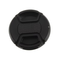Wholesale 58mm center pinch Front Lens Cover Cap for all mm for Canon lens Filter with cord