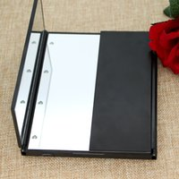 Wholesale Lady Rectangle LED Mirror Make Up Artist Beauty Mirror with Light Portable for Travel and in the dark Birthday Gift for Girl Friends