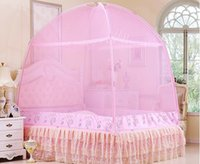 Wholesale Home textile bedding bag Mongolian Yurt Mosquito Net Three door meters cm tall