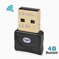 Wholesale Wireless Bluetooth Adapter V Dual Mode Bluetooth USB Dongle Mini Adaptador Bluetooth Computer Receiver Adapter Transmitter