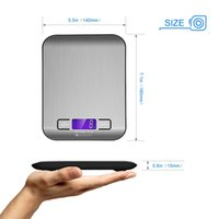 Wholesale Chinese factory wholesell Kg lb Digital Food Scale Stainless Steel Backlit LCD Display Multifunction Kitchen Electronic Balance