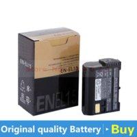 Wholesale EN EL15 Camera Battery for Nikon EN EL15 battery charger for Nikon D600 D610 D600E D800 D800E D810 D7000 D7100 d750 V1 MH