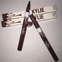 Wholesale Kylie liquid eyeliner Pen eye make up eyeliner pencil makeup Gel Thin Design Waterproof Eyeliner pen for KYLIE eye liners Colors MR008