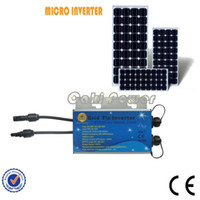 pv solar panel - Free ship monitor inverter IP65 inverter PV Panel w Waterproof Micro Grid Tie Solar Inverter Wifi transmitter modem mini pc