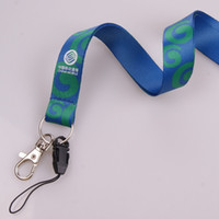 alloy contact - customized CM two sides sublimation lanyard mobile contact key strap card lanyard with metal hook mobile contact