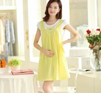 Wholesale Retail PC Maternity Clothes Summer Dress For Pregnant Women Casual Cotton Maternity Dresses