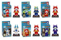 Wholesale 30pcs quot Yokai Watch Yo Kai Building Toys Blocks Figures