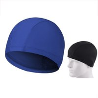 Wholesale Easy Fit Adult Swimming Hat Cap Swim Mens Womens Nylon Spandex Fabric Colors