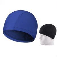 Wholesale Easy Fit Adult Swimming Hat Cap Swim Mens Womens Nylon Spandex Fabric Colors