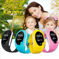 apple baby monitor - Remote control children GPS smart wrist watch with SOS function and sleep monitoring wristband for kids baby