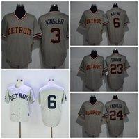 al kaline baseball - Mix Order Detroit Tigers Ian Kinsler Flexbase Baseball Jerseys Al Kaline Kirk Gibson Migue Cabrera Throwback Jersey