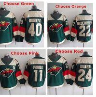 baseball stadiums - Cheap Minnesota Wild Devan Dubnyk Zach Parise Matt Dumba Nino Niederreiter Stadium Series Team Color Green Hockey Jer