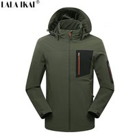 Wholesale Softshell Jacket Men Hiking Climbing Military Winter Jacket Male Outdoor Sport Fishing Camping Waterproof Jacket Men HMA0483