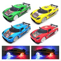 Wholesale High quality flashing baby min romote control car children romote toys
