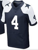 Wholesale NIK Elite Football Stitched Cowboys Draft Ezekiel Elliott MAYOWA MORRIS Prescott White Blue Thanksgiving Jerseys Mix Order