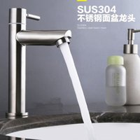 ball steel products - Sanitary Products Stainless Steel Washbasin Single Cold Water Tap Kitchen Sink Faucet
