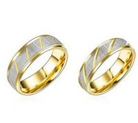 Wholesale The New Style High Quality Couple Ring Pair of Lovers To Quit Europe and The United States Fashion Jewelry Ring