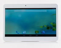 Wholesale 10 inch Tablet PC Android4 MTK6572 Quad Core Ghz GB RAM GB ROM Phone Call GPS Bluetooth Wifi Dual Camera A PB