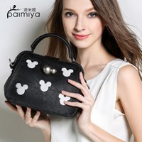 Wholesale New Cartoon Printing Handbag Fashion Fringe Tassel Women s Handbags Lady Shoulder Bag Contracted Shoulder Bag