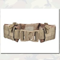 Wholesale Men s Military Style Tactical Belt MOLLE Padded Patrol Belt Men Airsoft Combat Military Outdoor Hunting