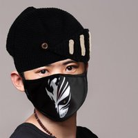 anime adult pictures - New Anime Unisex Adult PM pollen dust Mask Washable Activated carbon Filter Into cotton Masks Cool Picture Cosplay Mask