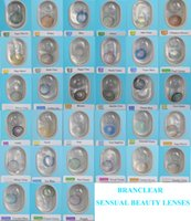Wholesale Sensual Beauty Lenses BRANCLEAR Color contact lenses colors with cases inside Sensual beauty contact lenses
