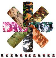 army face camouflage - Camo Paisley Bandana Army Headband Camouflage Outdoor Sport Bandana Bicycle Cycling Bandana Scarf Face Mask Headscarf cm