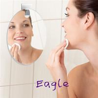 bathroom fogless mirror - Gooodluck Bathroom product anti fog Shower shaving Fogless Mirror Guaranteed Fog20cmX15cmX0 cm with Steel Adhesive Women