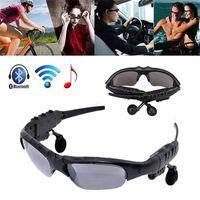 Wholesale Sport Sunglasses Bluetooth Headset Sunglass Stereo MP3 Bluetooth Wireless Sports Headphone Handsfree mp3 Music Player
