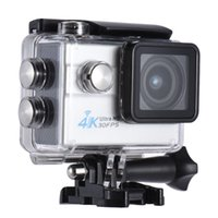 Wholesale 2 quot LCD Wifi Action Sports Camera Ultra HD MP K FPS P FPS X Zoom Degree Wide Lens Support Image Rotation Time Waterproof
