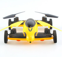 air best brushes - Newest Air Land Dual Mode RC Flying Car Drone Quadcopter UFO CG038 same size as X5C RC Helicopter Best Toys for Kids
