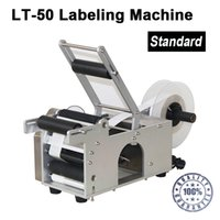Wholesale LT Semi automatic Labeling Machine medicine bottle labeling machine with date printer printing labeling machine