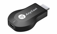 Precio de Androide tv stick dlna-Nuevo Anycast M2 Plus DLNA Airplay Pantalla WiFi Miracast Dongle HDMI Multidisplay 1080P Receptor AirMirror Mini Android TV Stick Mejor ezCast