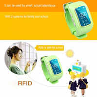android making - LCD Display GSM Phone And GPS tracking smart watch for kids good quality make your kids safety