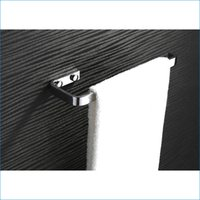 Wholesale Luxury brass towel bar polished chrome toilet towel rack bathroom towel rod J15499