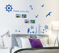 background frames for photos - high quality Creative DIY PVC Photo Frame Removable Living Room TV Background Wall Sticker