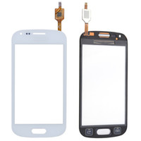 ace touch screen - For Samsung Galaxy Ace Duos S7562 touch Screen Digitizer Glass Panel Lens Replacement White Black