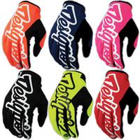 atv gps - TLD Gloves Troy Lee Designs Motorcycle Moto Gloves MTB ATV Off Road Bicycle Gunates Cycling DH GP BMX Racing Gloves colors