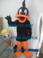 Wholesale Daffy duck looney tunes mascot costume custom fancy costume anime cosply kits mascotte fancy dress carnival costume