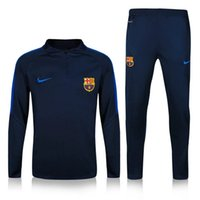 barcelona jersey new - 2016 NEW barcelona messi jerseys Survetement tracksuit soccer maillot training suits maillot Sweatshirts football shirt Pants