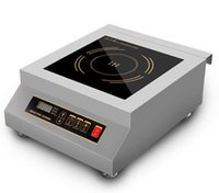 Wholesale 5000W Commercial Restaurant Electric Induction Cooktop Stainless Steel Frame Induction Stove