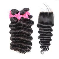 big loose curls - Unprocessed Peruvian Loose Curl Virgin Hair Bundles With Closure Wavy Hair Extensions Tangle Free Hair Big Curl