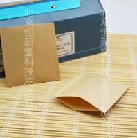 bag drug - Easy bag leather bag heat sealing film x8cm special packaging bag tea plant drugs