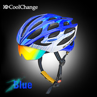 air bikes - 2016 HOT Bicycle Cycling Helmet EPS PC Material Ultralight Mountain Bike Helmet Air Vents With Lenses any size