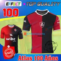 Wholesale TOP QUALITY MEXICO LIGA MX CLUB Atlas Years Años Anniversary Centenario Soccer jersey Guadalajara Chivas Maillot De Foot shirts