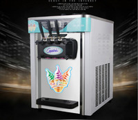 Wholesale new automatic three color mini ice cream machine ice cream machine built Expanded Variety shape energy efficient and durable