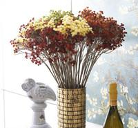 autumn scenery - 20 quot Autumn Scenery Gypsophila Artificial Plastic Baby s Breath Flower Plant Home Wedding Decor