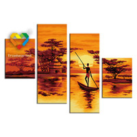 baby toy bar - Dusk DIY Painting Baby Toys x120cm Coloring Canvas Oil Painting Kids Drawing Toys Set for Bar