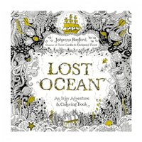 adult education books - Lost Ocean Coloring Books Graffiti Painting Drawing Book pages Education Toys for Adult and Children